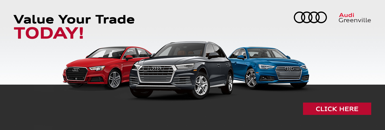 Value Your Trade Now at Audi Greenville in Greenville SC