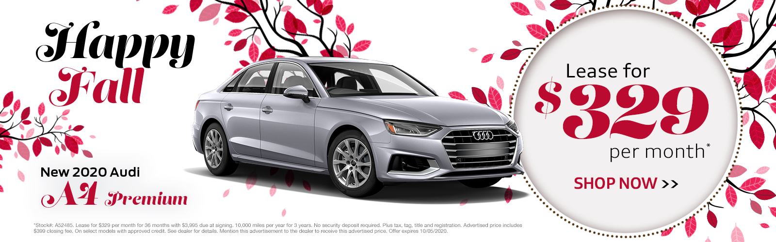 New 2020 Audi A4 Greenville SC