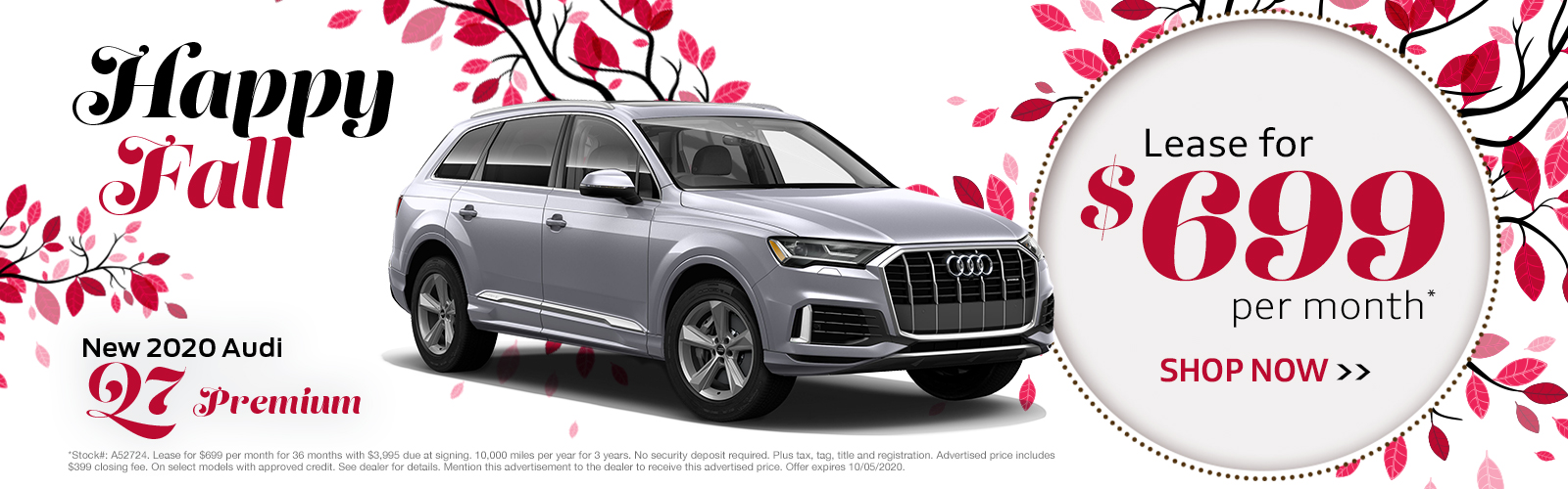 New 2020 Audi Q7 Greenville SC