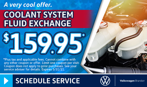 Coolant System Fluid Exchange Coupon in Tampa FL