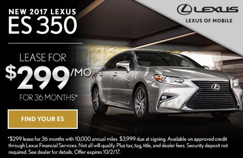 Lexus es 350 lease offers