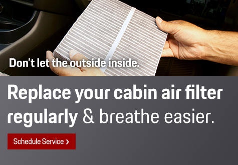 Cabin Air Filter in Livermore CA